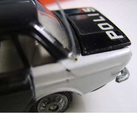 Volvo 144 polis bagklap