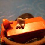 Løs lygte (den der sidder fast på pumpehuset) 1