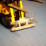 Ankerplade for montering af gaffel 1