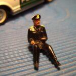 Chauffør malet politi eller umalet original 1