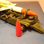 Bloodhound - missilspids i rød plast 1