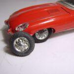 Jaguar E, dæk + fælg, originale 1