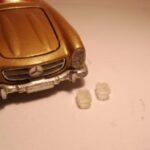 Forlygte Mercedes Benz 300 SL klar (pr s