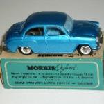 Morris Oxford eksportmodel blå