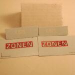 341-2 Zonen rød m. sorte skærme