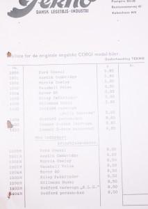 Forhandlerkatalog 1957