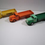446 Scania Vabis lastbil m åbent lad
