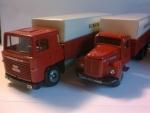 Scania Vabis 110-140 Super rød-sort m.hænger 2