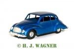 1053 - DKW 3=6, Lion-Car Denmark, solgt med nr. 1053 fra Tekno i 1958. Ældre renovering. Der står ingen tekst på dæk.
