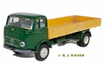 910a - Mercedes-Benz LP 322 åben lastbil uden last