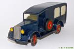 351 - blå ambulance