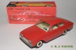 826 -- Ford Taunus 17m Super -- plastik hjul