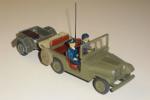 En jeep med plads på bagsædet