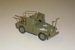 En jeep klar til angreb.